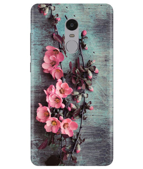 Pink Artistry Redmi Note 4 Cover