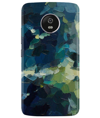 Strokes Mess Moto G5 Plus Cover