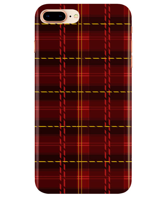 Check Fabric iPhONE 7Plus Cover