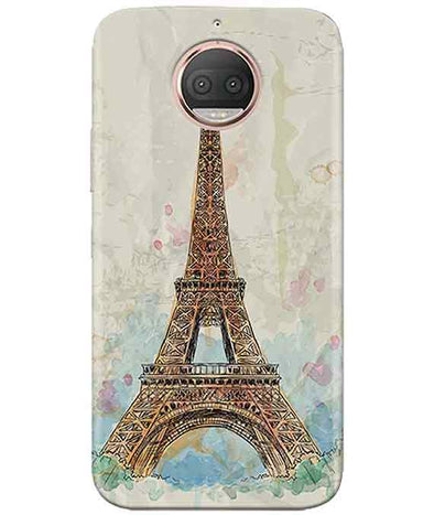 Eiffel Tower Moto G5s PlusCover