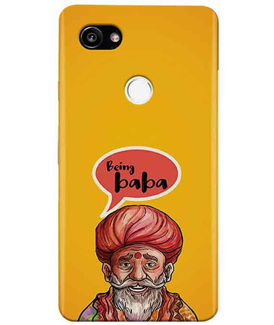 Being Baba Google Pixel 2 XL Cover