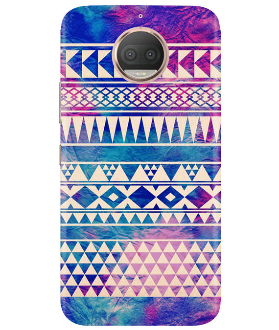 Pattern Lines Moto G5 Plus Cover