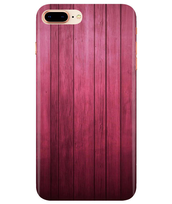 Raspberry Wood iPhONE 8Plus Cover