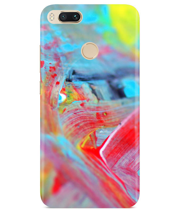 Canvas Strokes Redmi A1 Cover
