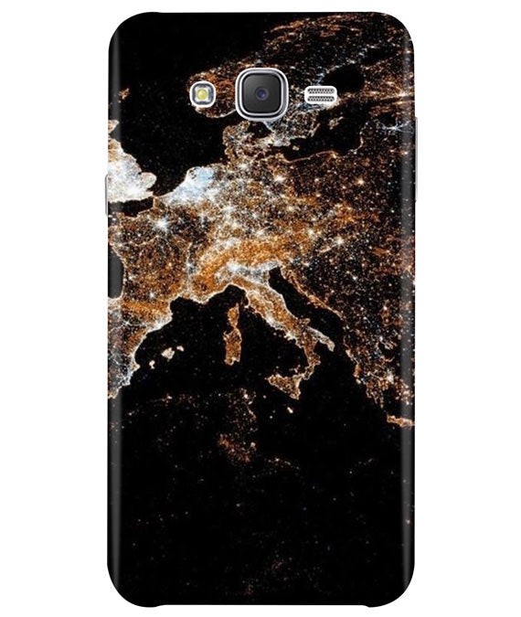 Mapped Samsung J5 2015 Cover