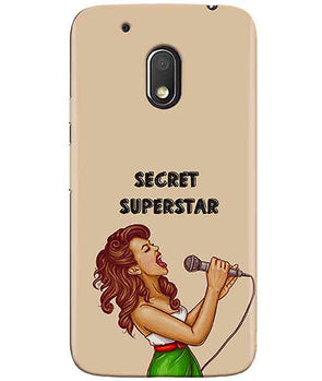 Secret Superstar MOTO G4 PLAY Cover