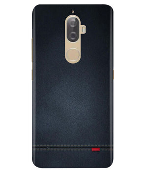 Black Denim Lenovo K8 Plus Cover