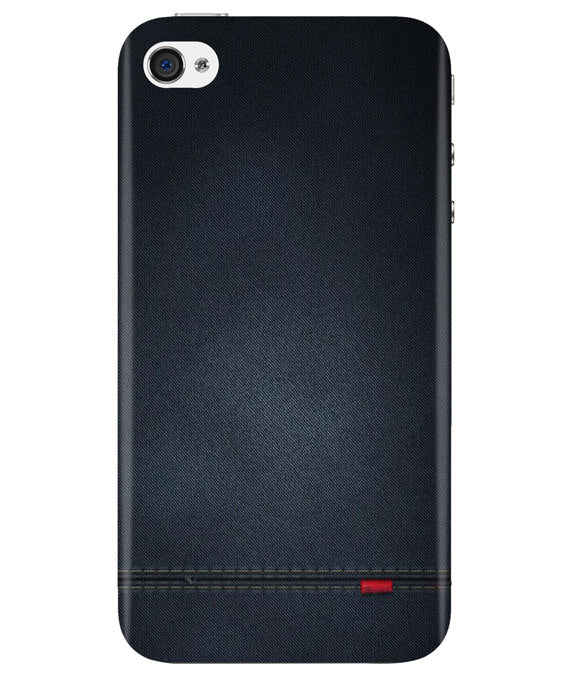 Black Denim iPhONE 4 Cover