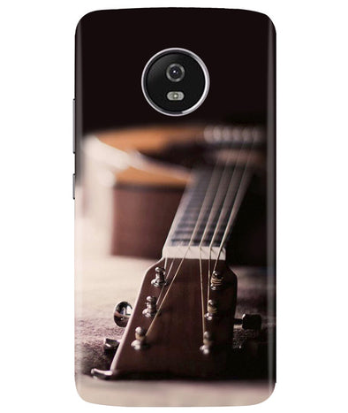 Guitar Strings Moto G5 Plus Cover