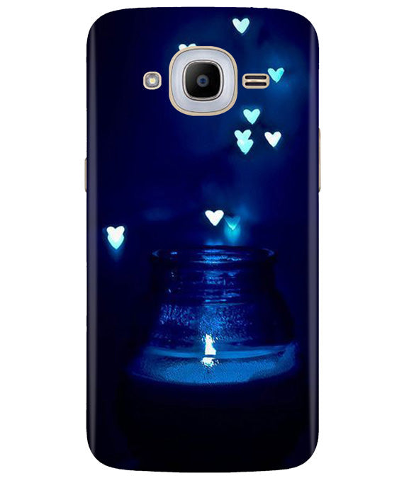 Aqua Love Samsung J2 2016 Cover