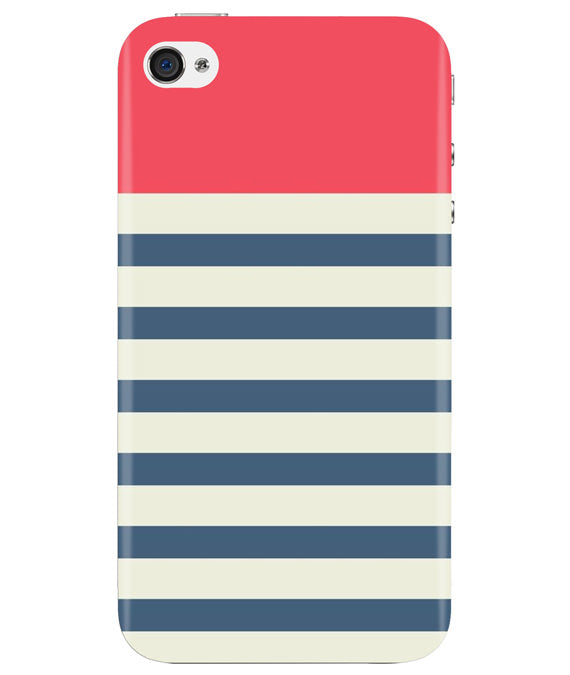Cream Stripes iPhONE 4 Cover