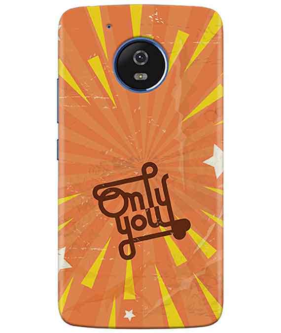 Only You moto G5 Cover