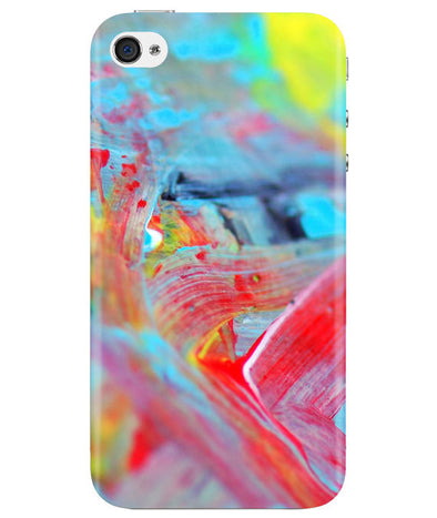 Canvas Strokes iPhONE 4 Cover