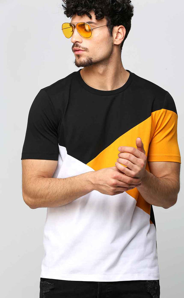 Adventurous T Shirt in Tricolor