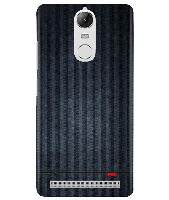 Black Denim Lenovo K5 Note Cover