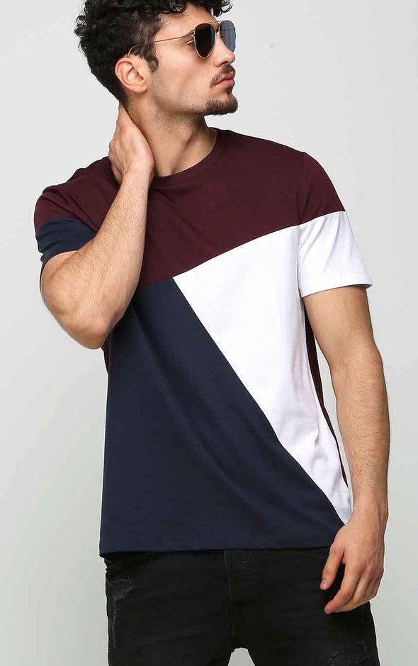 Cotton T Shirt In Half Sleeve