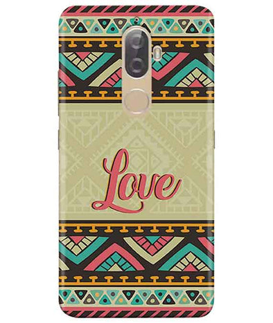Ethnic Love Lenovo K8 Plus Cover