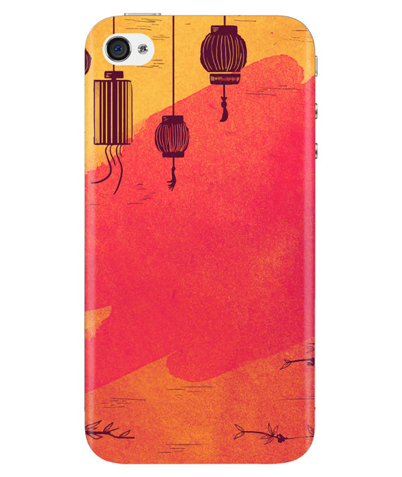 Warm Shades Lanterns Iphone 4/4S Cover