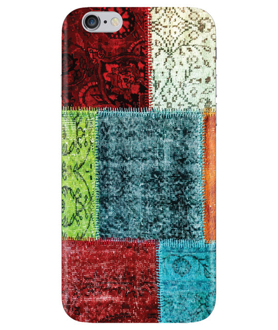 Multi-color Blocks Iphone 6 PLUS Cover