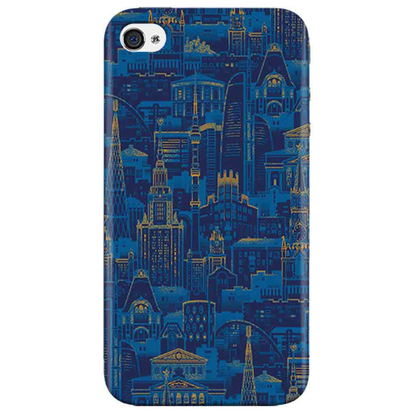 New York View Iphone 4 Cover