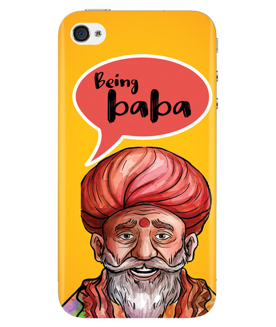 Being Baba Iphone 4/4S Cover