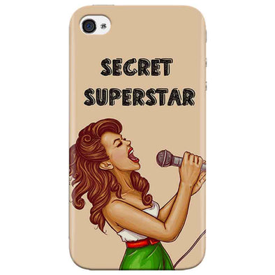 Secret Superstar Iphone 4 Cover