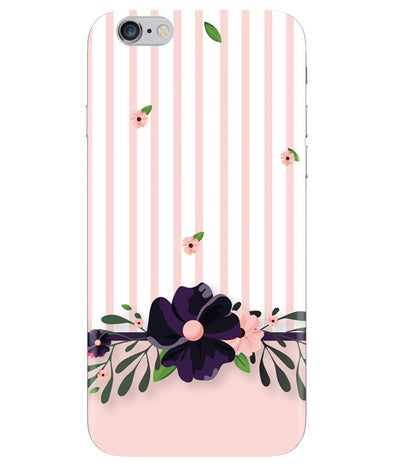 Violet Floral Iphone 6 PLUS Cover
