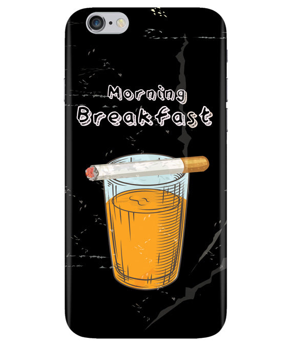 Morning Breakfast Iphone 6 PLUS Cover