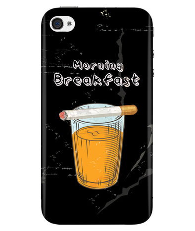 Morning Breakfast Iphone 4/4S Cover