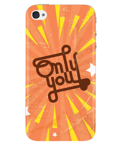 Only You Iphone 4/4S Cover