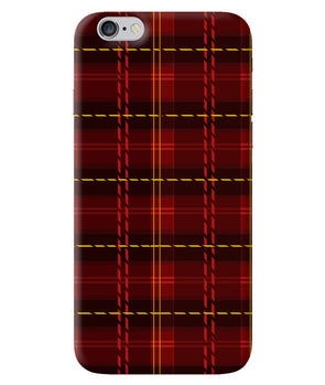 Check Fabric iPhone 6/6S Cover