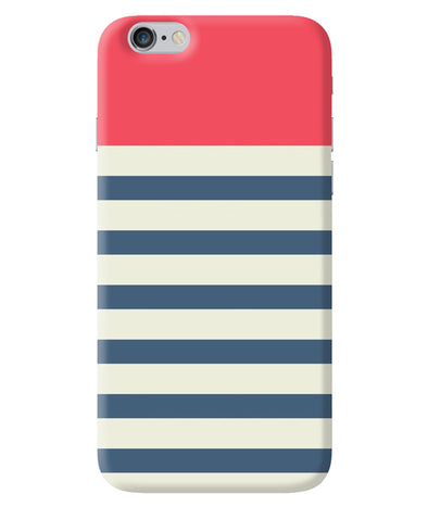 Cream Stripes iPhone 6/6S Cover