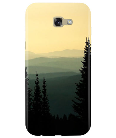 Serene View Samsung A7 2017 back Cover