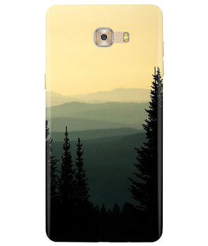 Serene View Samsung C7 Pro Back Cover