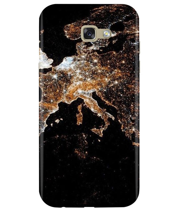 Mapped Samsung A7 2017 Cover