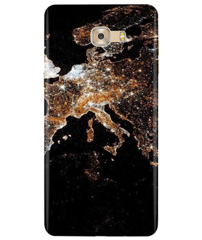 Mapped Samsung C7 Pro Cover