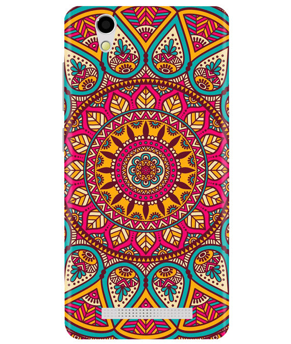 Mandala Art Ginonee F103 Back Cover