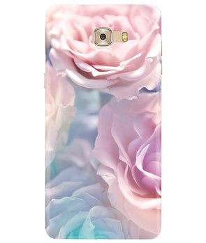 Cool Floral Samsung C7 Pro Cover