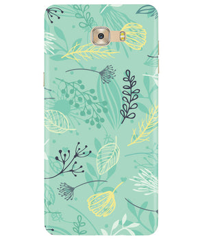 Greenery Samsung C7 Pro Cover