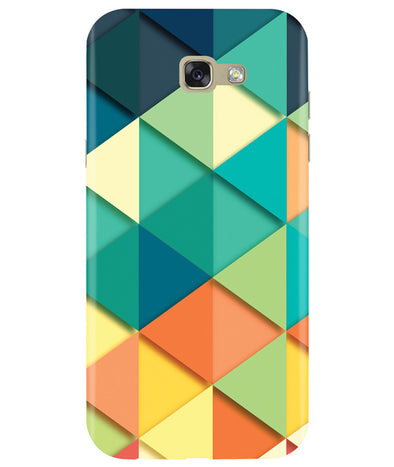 Big Retroangle Samsung A7 2017 Cover