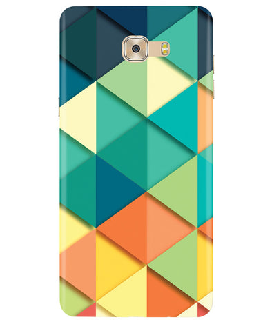 Big Retroangle Samsung C7 Pro Cover