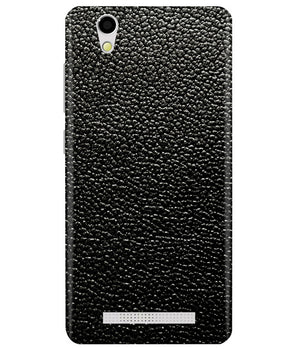 Black Leather Ginonee F103 Back Cover
