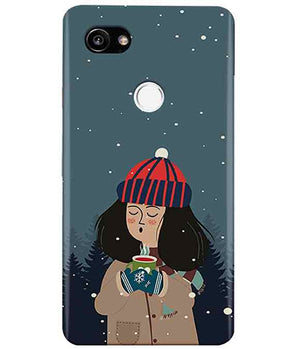 Winter Charm Google Pixel 2 XL Cover