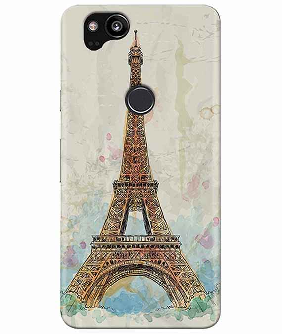 Eiffel Tower Google Pixel 2 Cover