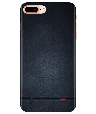 Black Denim iPhONE 8Plus Cover