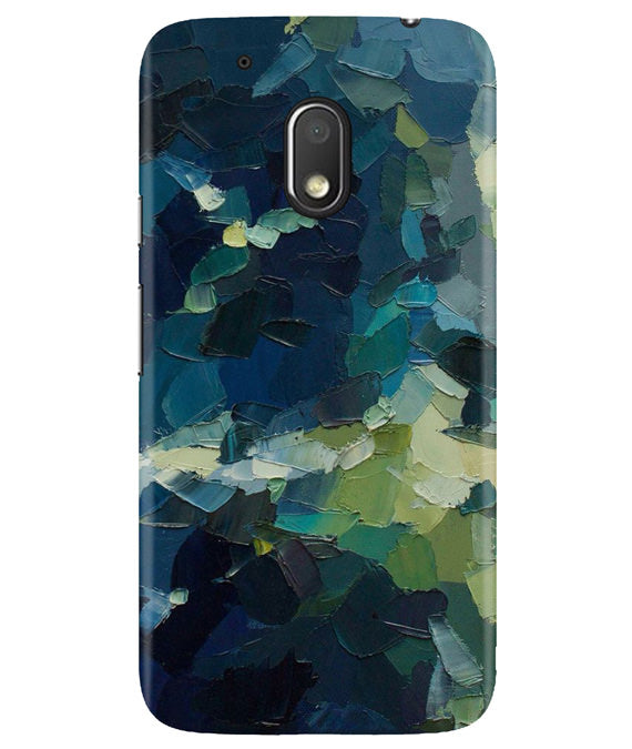 Strokes Mess Moto G4 Play Cover