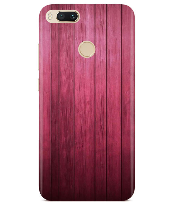 Raspberry Wood Redmi A1 Cover