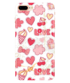 Girly Pink Iphone 7-PLUS Cover
