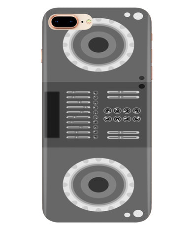 Grey Black Speaker Iphone 7-PLUS Cover