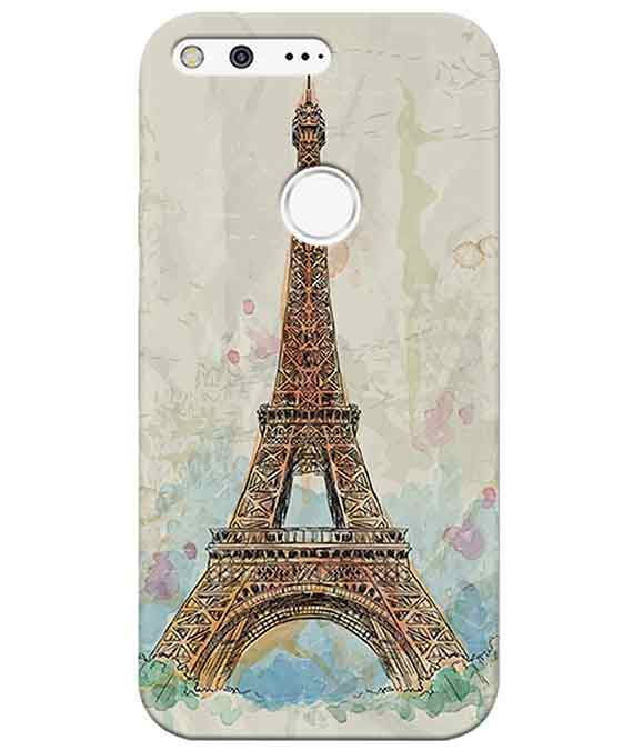 Eiffel Tower Google PixelCover